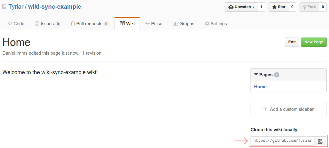 Enabling pull requests on GitHub wikis - Growing with the Web